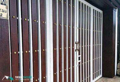Cổng rào gỗ Smartwood