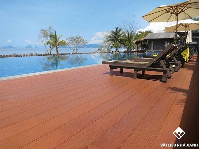 gỗ lót sàn ngoài trời