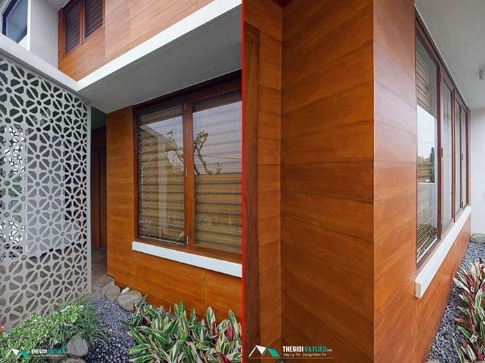 gỗ ốp tường chịu nước