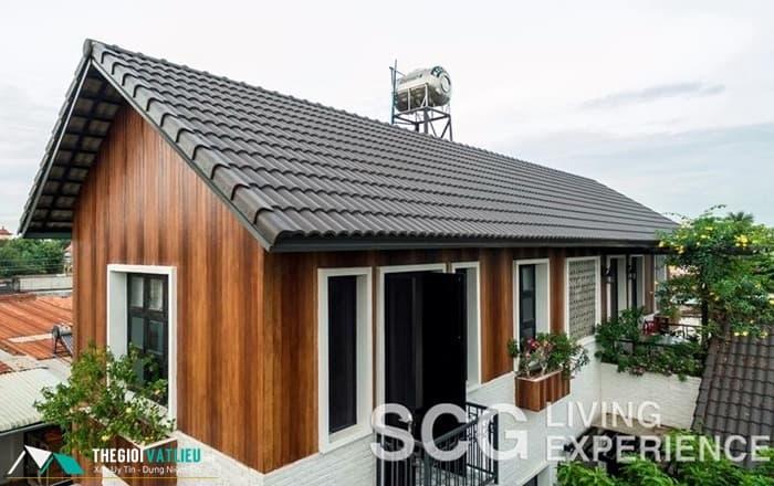 gỗ ốp tường nhà