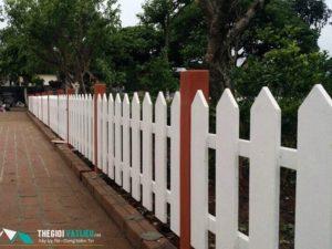 Hàng rào gỗ Smartwood