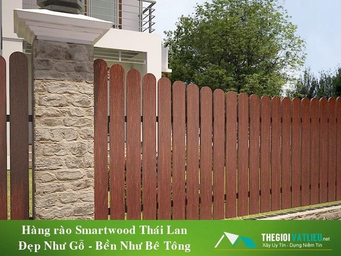 hàng rào gỗ tphcm