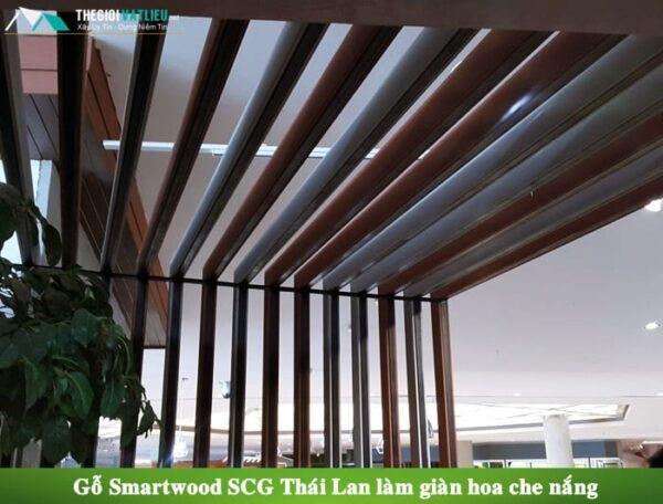 Lam gỗ trang trí ngoài trời smartwood thái lan