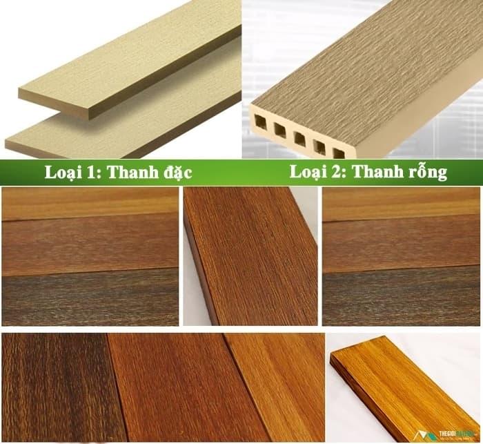 mẫu sàn gỗ ngoài trời