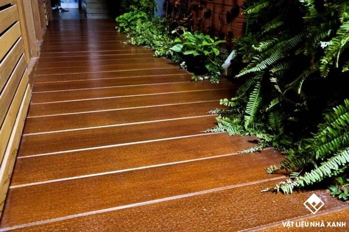 sàn gỗ ngoài trời tại tphcm
