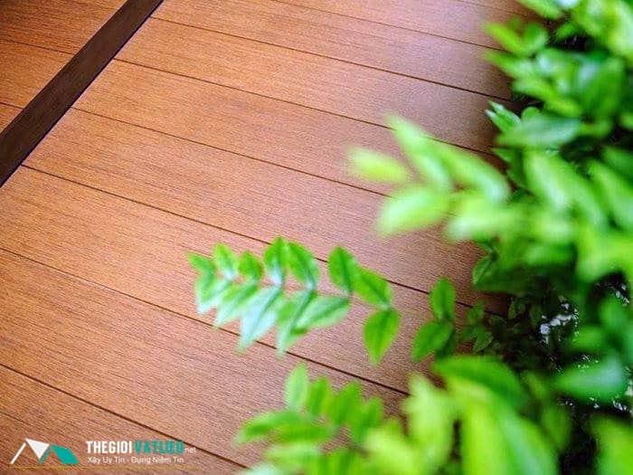 sàn gỗ ngoài trời trang trí