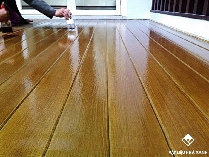 tấm sàn gỗ ngoài trời