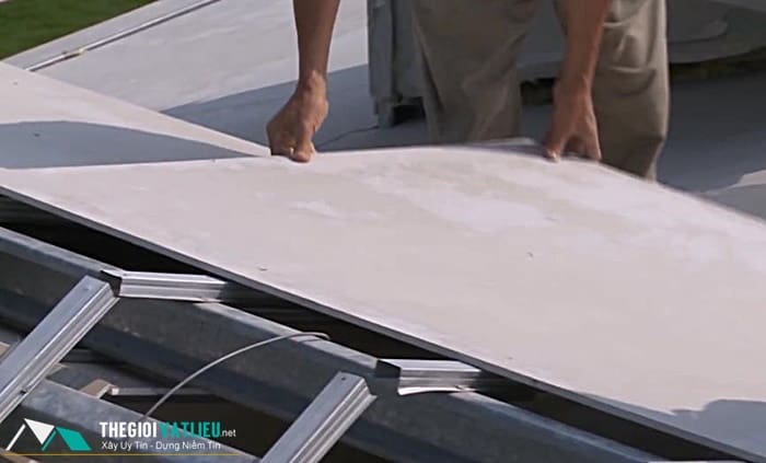Tấm vivaboard lợp mái