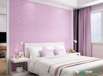 xốp dán tường phòng ngủ