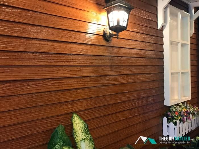 báo giá gỗ ốp tường