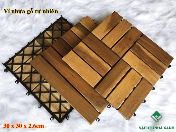 báo giá vỉ gỗ nhựa