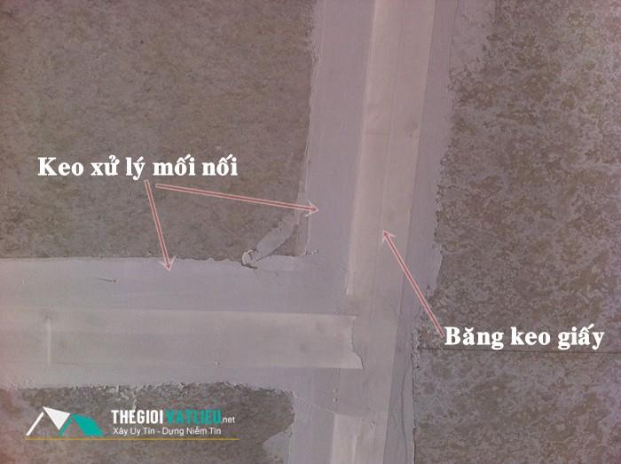 bột trét xử lý mối nối