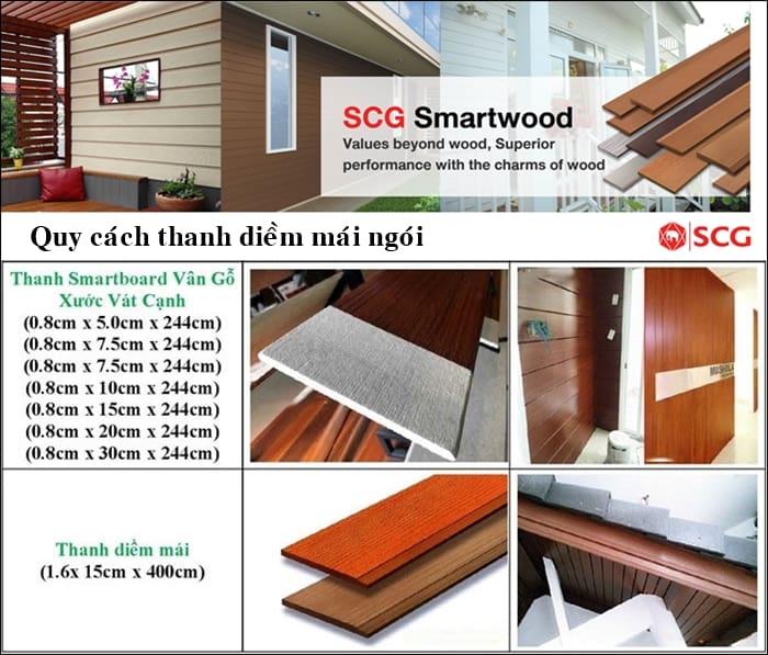 diềm mái ngói smartwood