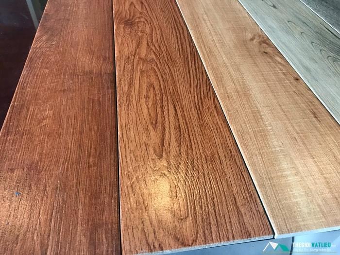 các mẫu gạch ốp tường giả gỗ