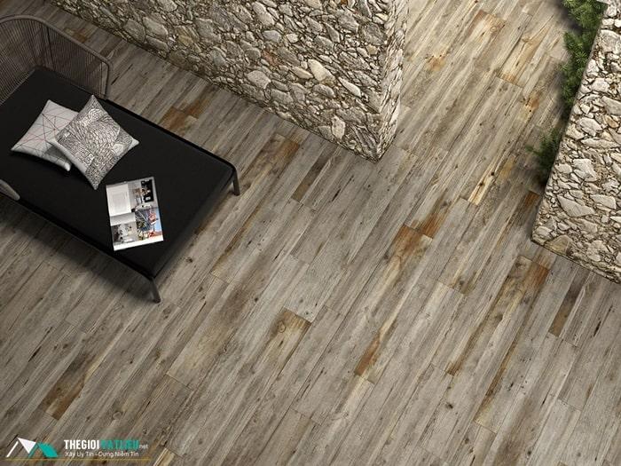 giá gạch lát nền vân gỗ