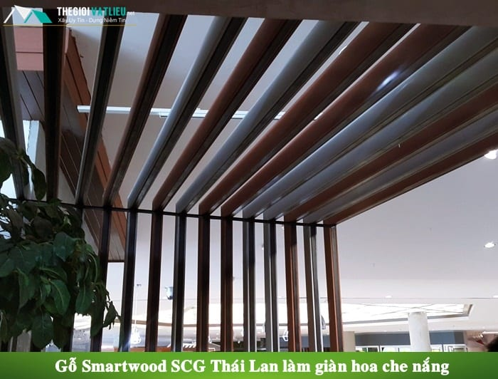 giá lam chắn nắng smartwood