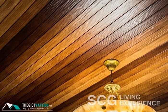 giá sơn trần giả gỗ