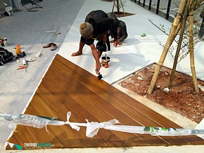 hướng dẫn sơn giả gỗ