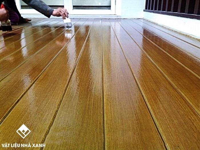 kỹ thuật sơn giả gỗ