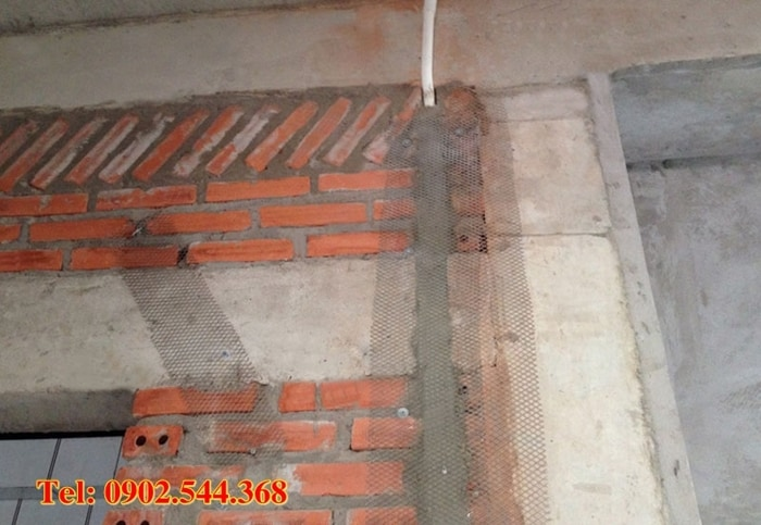lưới trát tường chống nứt