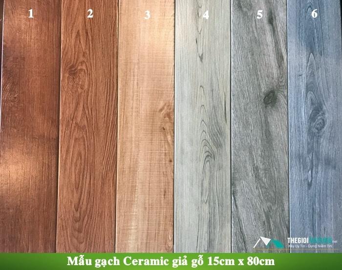 mẫu gạch giả gỗ tự nhiên