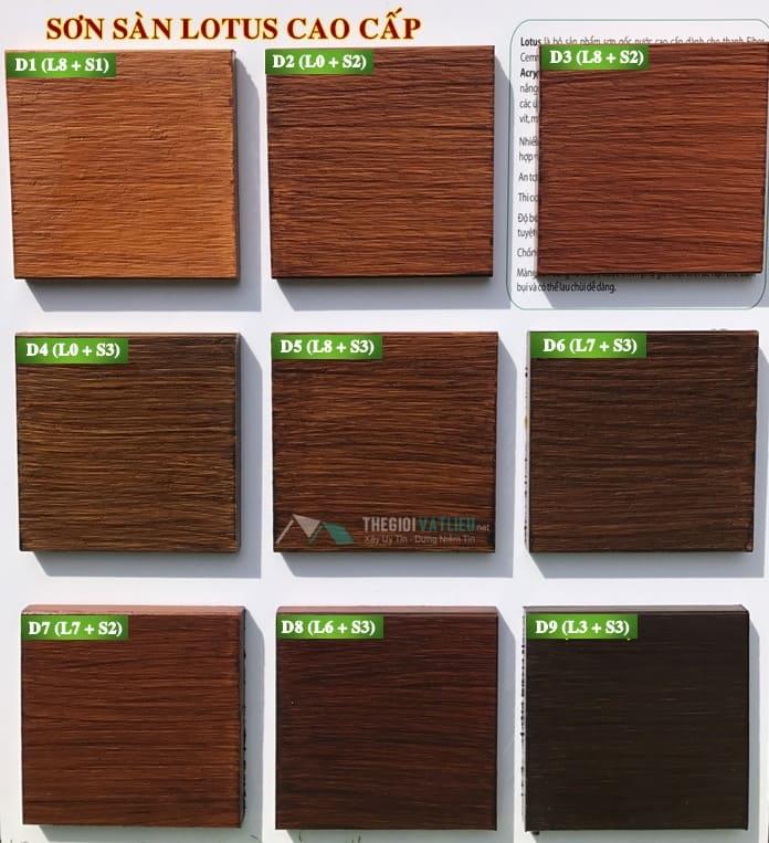 sơn sàn giả gỗ