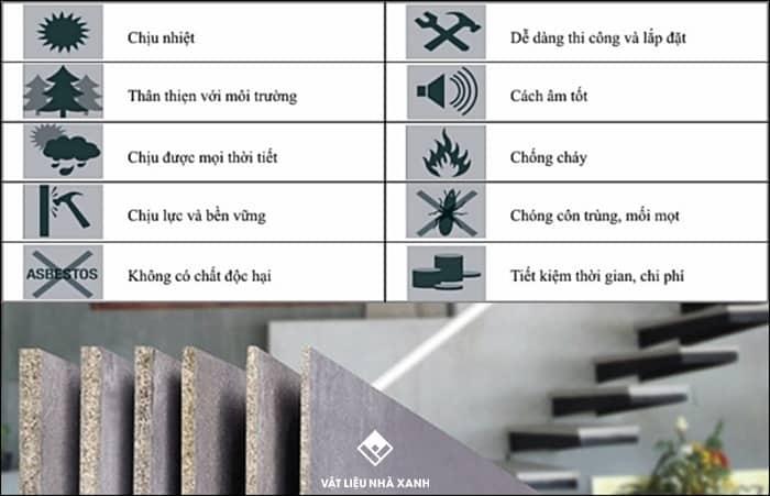 tấm cement board chống cháy
