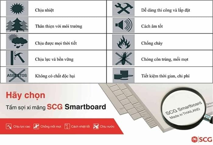 tấm scg smartboard