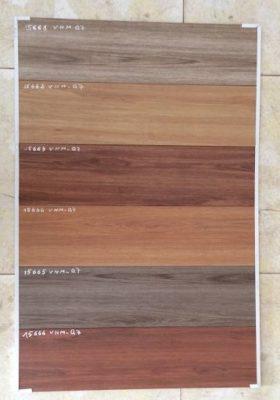 Gạch giả gỗ có màu sắc đa dạng