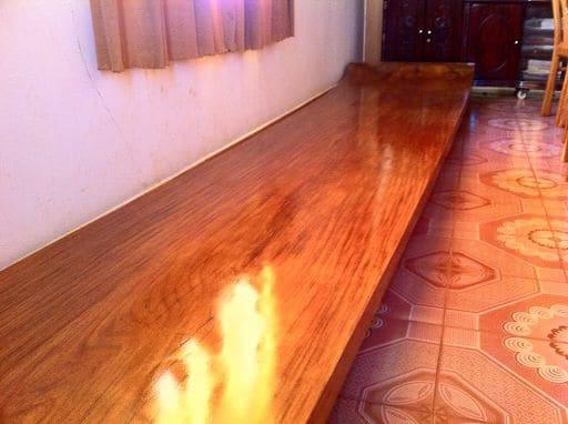 Gạch gỗ thông đỏ