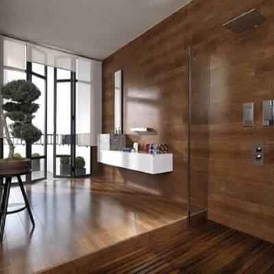 Gạch giả gỗ ốp tường