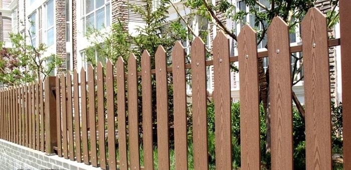 Hàng rào từ tấm xi măng có tính thẩm mỹ cao và giá rẻ