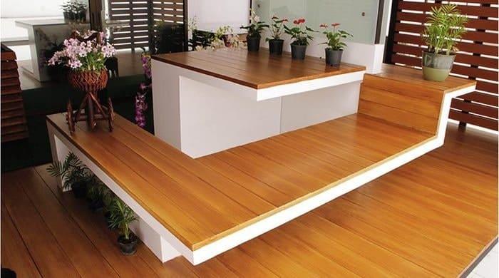 Sàn gỗ nhân tạo có mức giá rất phải chăng
