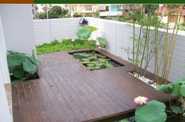 Sàn gỗ nhân tạo chống nước có thể dùng