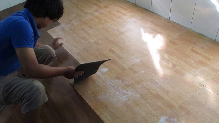 Sàn nhựa giả gỗ giá rẻ nhưng có tính thẩm mỹ rất cao