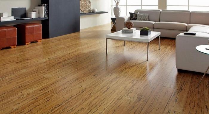 Giá thành rẻ và độ bền cao là ưu điểm lớn nhất của sàn nhựa giả gỗ
