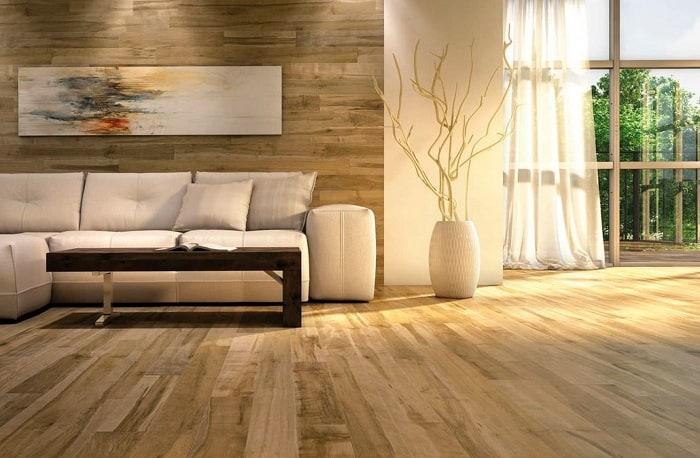 Sàn nhựa giã gỗ ban công có nhiều tính chất vượt trội
