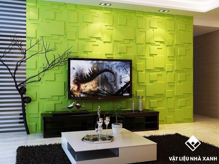 Xốp dán tường 3D là dòng vật liệu hiện đại và sang trọng