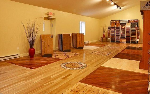 Lót sàn nhựa giả gỗ không gây ảnh hưởng xấu đến phong thủy