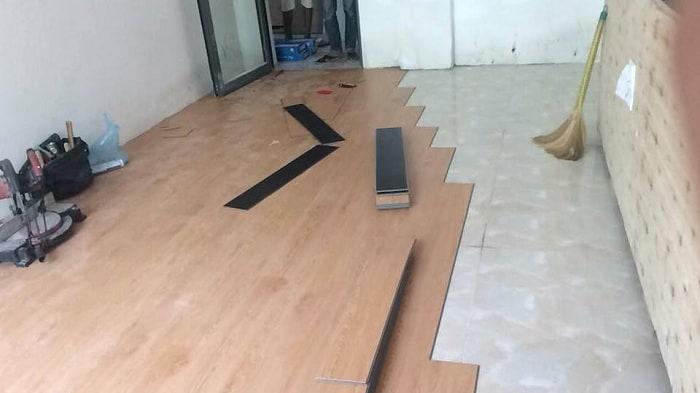 Lót sàn nhựa giả gỗ là một lựa chọn lí tưởng