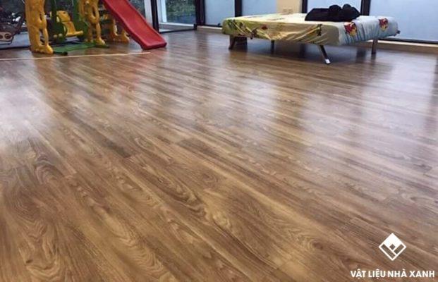 lót sàn gỗ PVC cao cấp
