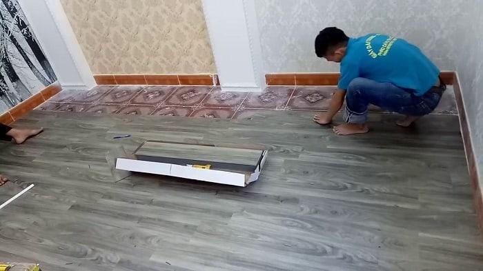Vật Liệu Nhà Xanh đơn vị cung cấp sàn nhựa giả gỗ giá rẻ, chất lượng