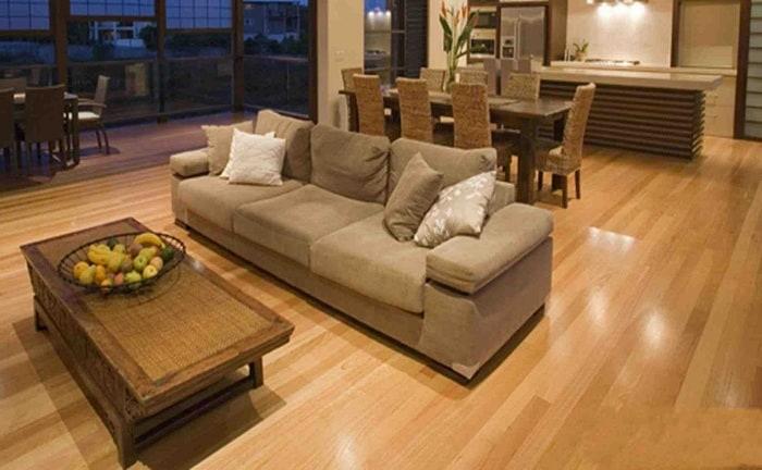 Trang trí nhà dịp Tết bằng sàn nhựa giả gỗ