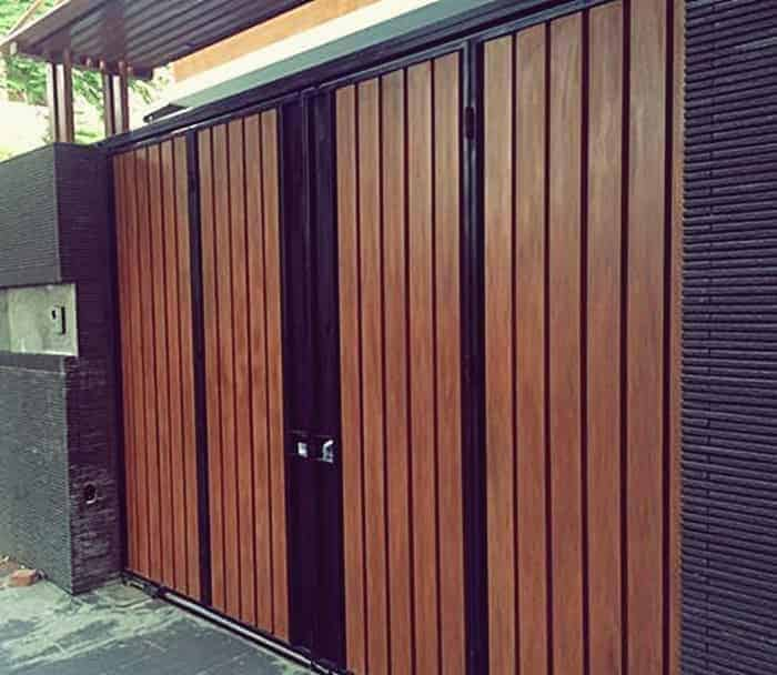 Cổng rào gỗ Smartwood có tính thẩm mỹ và độ bền cao