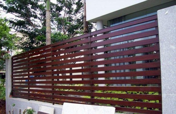 hàng rào gỗ nhân tạo Smartwood