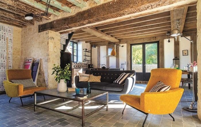 Sàn nhựa giả gỗ vẫn bảo toàn nguyên vẹn nét đẹp của nội thất Vintage siêu chất