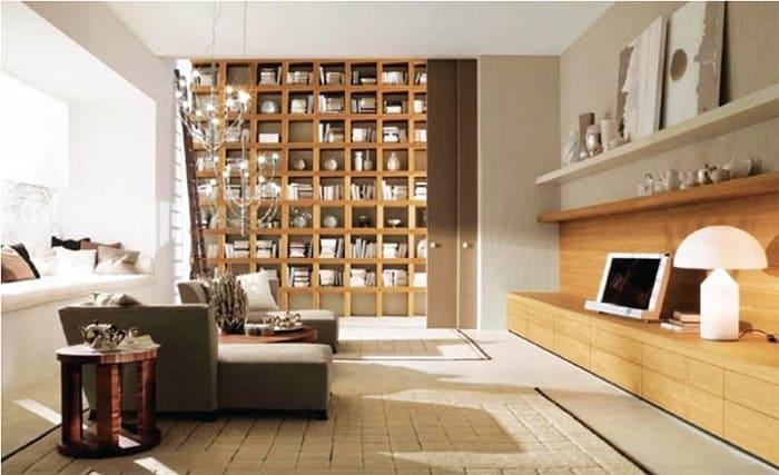 Sàn nhựa giả gỗ và gạch giả gỗ ốp tường trong thiết kế Rustic