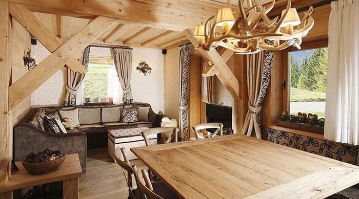 Phong cách thiết kế nội thất Rustic ngày càng đượng yêu thích