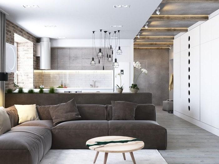Sàn gỗ là vật liệu cực kỳ quan trọng trong thiết kế Scandinavian