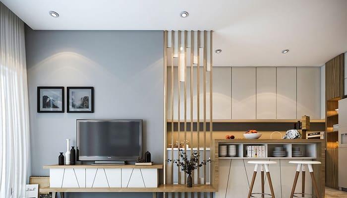 Phong cách nội thất hiện đại với thiết kế tinh tế và sang trọng
